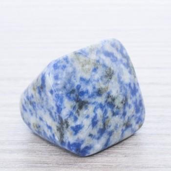 Anillo piedra maciza sodalita