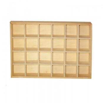 Caja de madera con...