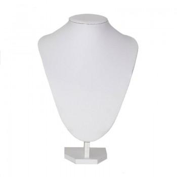Busto expositor de collares...