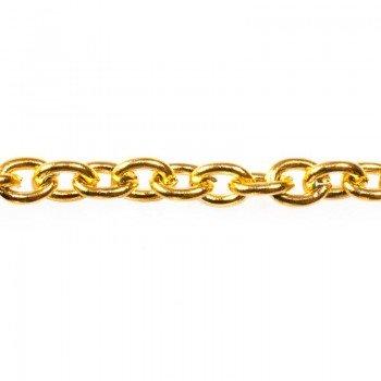 Rollo cadena dorada eslabon...