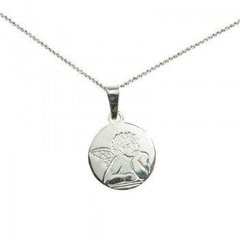 Medalla ángel con cadena...