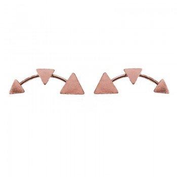 Pendientes triángulos...