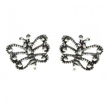 Pendientes mini mariposa...