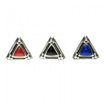 Pendientes triángulo Bali...