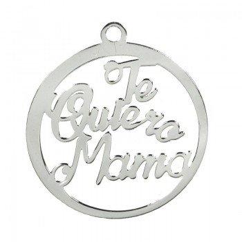 Colgante Te quiero Mamá...