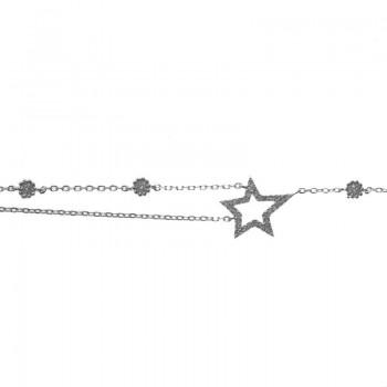 Pulsera asimétrica estrella...