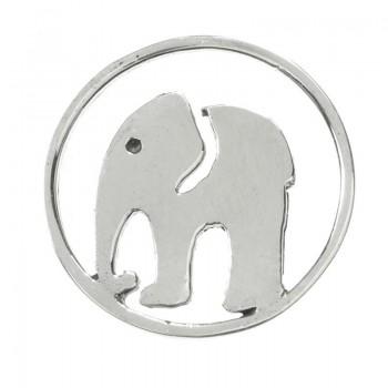 Entrepieza elefante Plata...