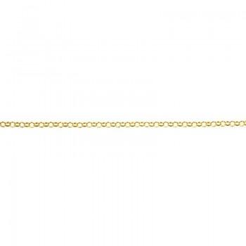 Cadena Roló 1.3 mm dorada...