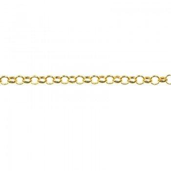 Cadena Roló 1.7 mm dorada...