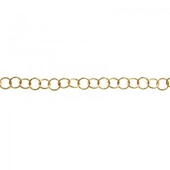 Cadena Roló 4.2 mm dorada...