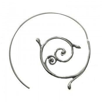 Pendientes espiral balinesa...