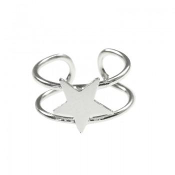 Ear cuff estrella Plata de Ley