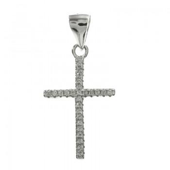 Conjunto cruz de circonitas...