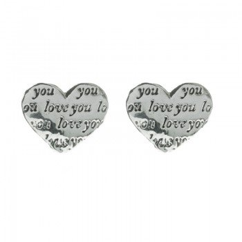 Pendientes LOVE YOU Plata...