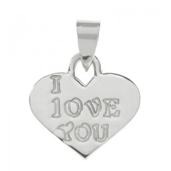 Collar I LOVE YOU con...