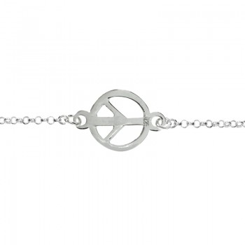 Tobillera símbolo de la Paz...