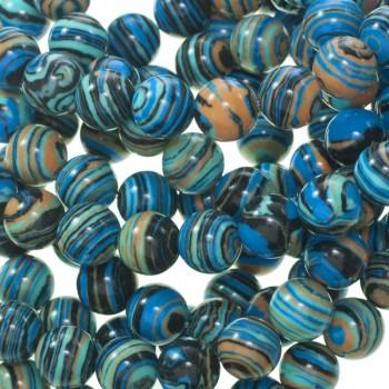 Cerámica azul tira de 40 cm