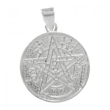 Colgante amuleto pentagrama...