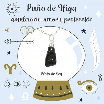 Amuleto puño de Higa Plata...