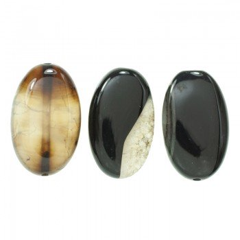 Piedra Jade imperial ovalada