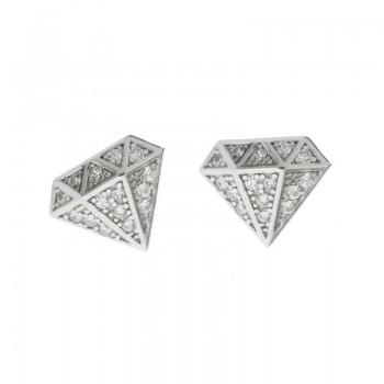Pendientes diamante con...