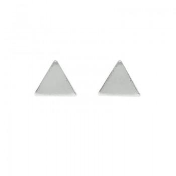 Pendientes mini triángulos...