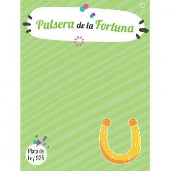 Pulsera de la Fortuna Plata...