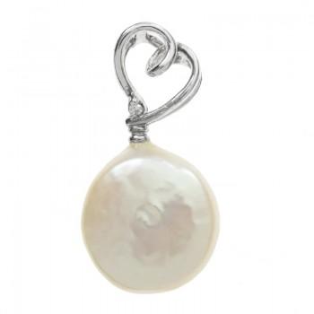 Colgante de perla natural...