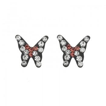 Penientes mini mariposa...