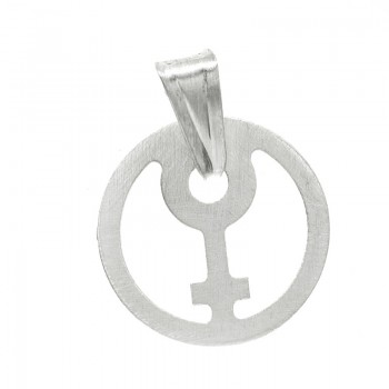 Colgante símbolo mujer...