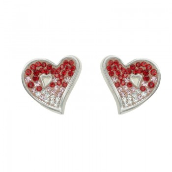 Pendientes red love...