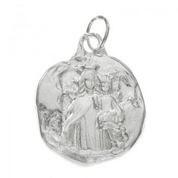 Medalla Virgen Plata de Ley