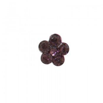 10 Piercing flor circonitas...