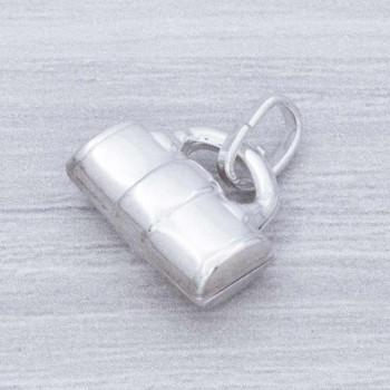 Colgante bolso Plata de Ley