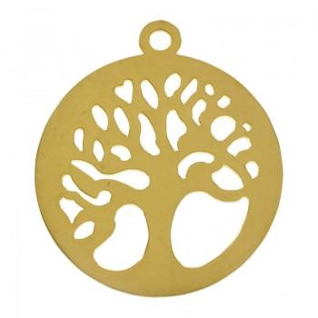 Colgante árbol ramas dorado...