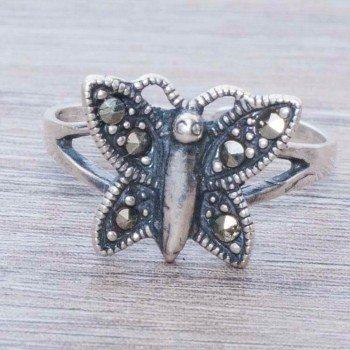 Anillo marquesita mariposa...