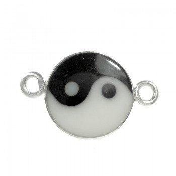 Entrepieza Yin-Yang Plata...