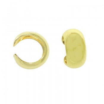 Pendientes ear cuff dorado...
