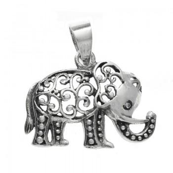 Colgante elefante étnico...