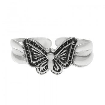 Anillo ajustable mariposa...