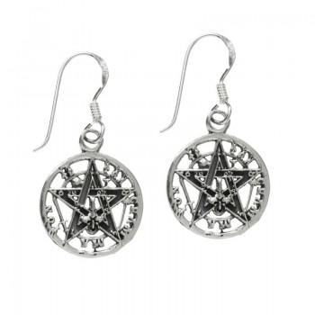 Pendientes Tetragramatón...