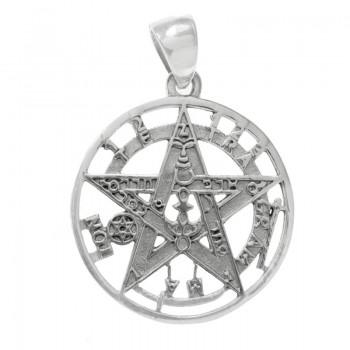 Colgante tetragramatón...