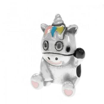 Charm unicornio Plata de Ley