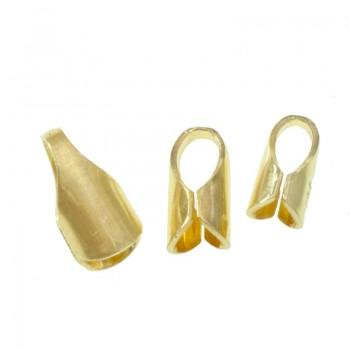Terminal cordón chapado en Oro