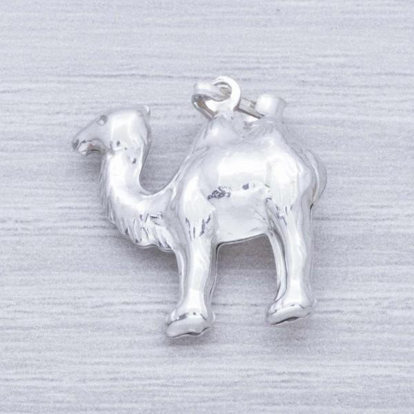 Colgante camello esmaltado Plata de Ley