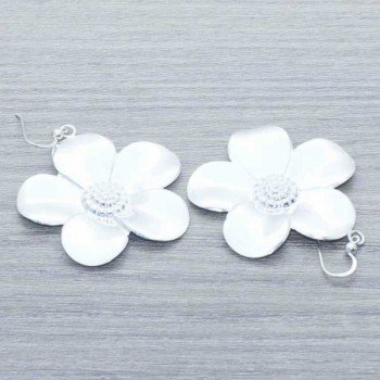Pendientes flor Plata de...