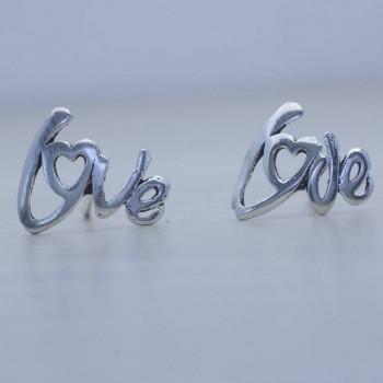 Pendientes letras Love...