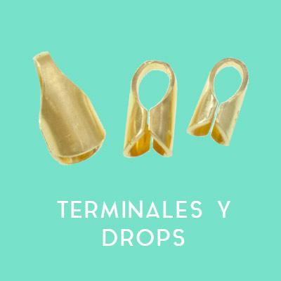 Terminales y drops Plata de Leyr